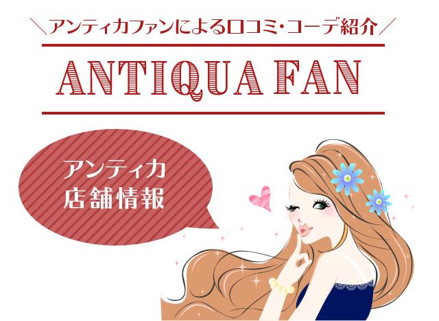 antiqua(アンティカ)店舗情報